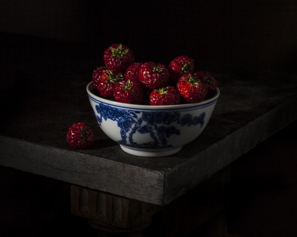 Strawberries in china